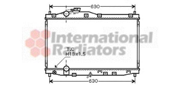 Radiateur, refroidissement du moteur - VWA - 88VWA25002171