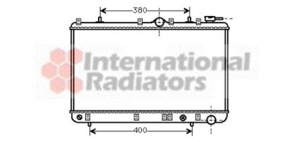 Radiateur, refroidissement du moteur - VWA - 88VWA82002005