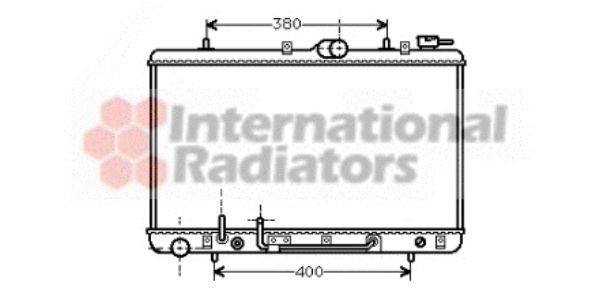 Radiateur, refroidissement du moteur - VAN WEZEL - 82002030