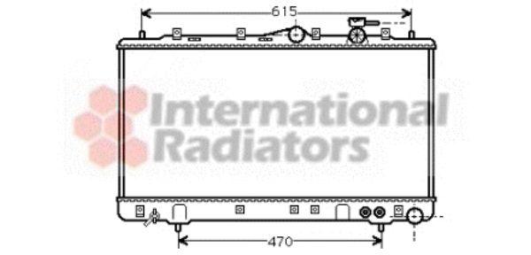 Radiateur, refroidissement du moteur - VWA - 88VWA82002056