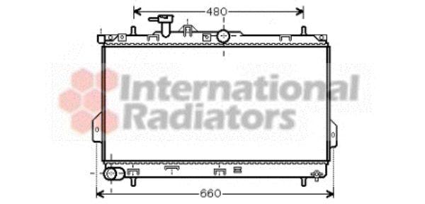Radiateur, refroidissement du moteur - VWA - 88VWA82002097