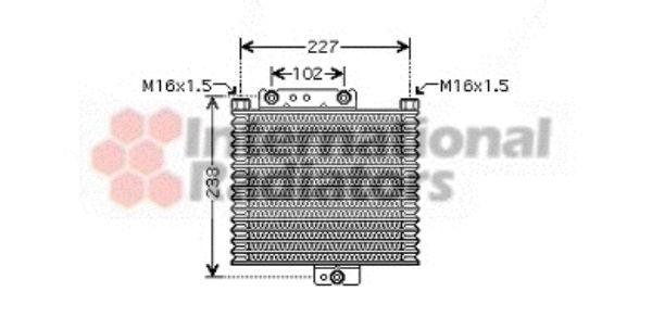 Radiateur d'huile - VWA - 88VWA82003151
