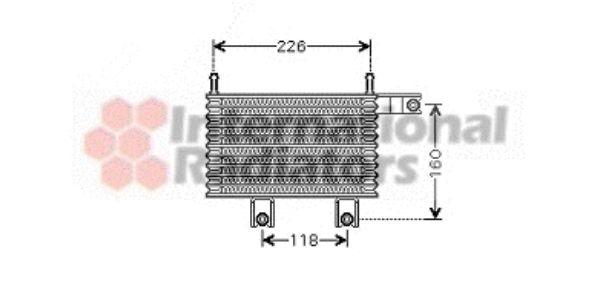 Radiateur d'huile - VAN WEZEL - 82003153