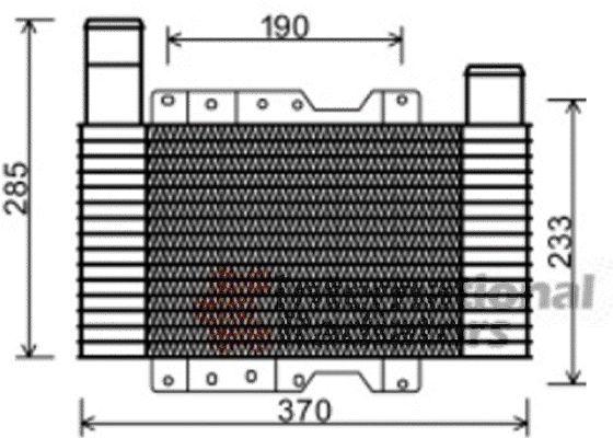 Intercooler, échangeur - VWA - 88VWA82004223