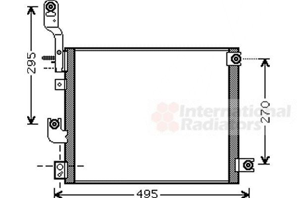 Condenseur, climatisation - VAN WEZEL - 82005194