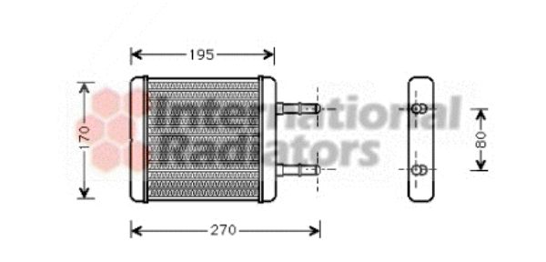 Système de chauffage - VAN WEZEL - 82006061
