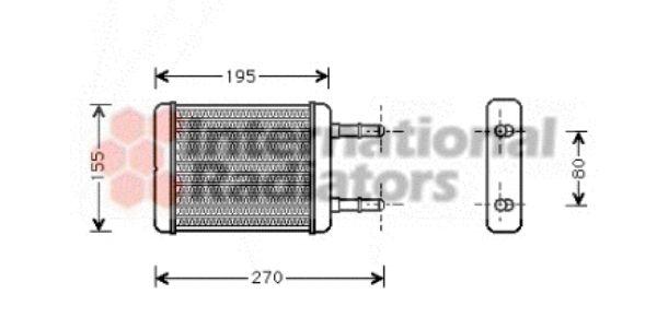 Système de chauffage - VAN WEZEL - 82006064