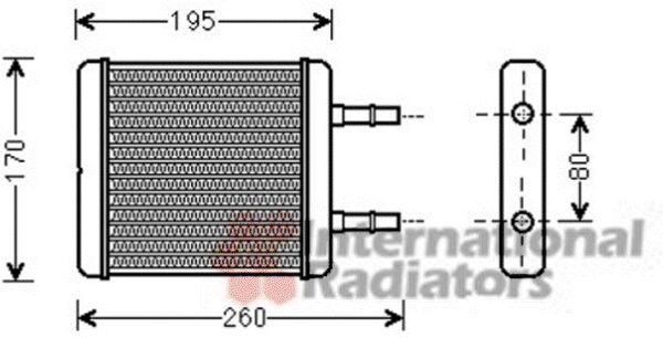 Système de chauffage - VAN WEZEL - 82006216