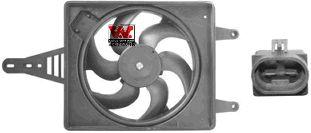 Ventilateur, refroidissement du moteur - VAN WEZEL - 0156746