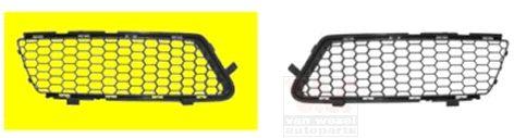Grille de ventilation, pare-chocs - VAN WEZEL - 0160592