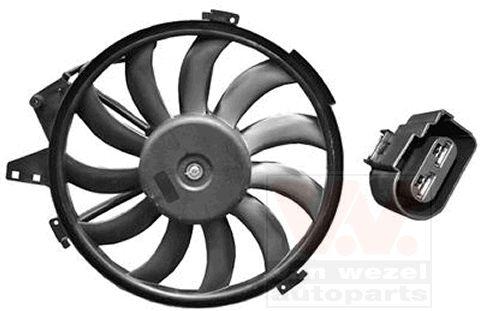 Ventilateur, refroidissement du moteur - VAN WEZEL - 0302746