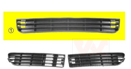 Grille de ventilation, pare-chocs - VWA - 88VWA0314501