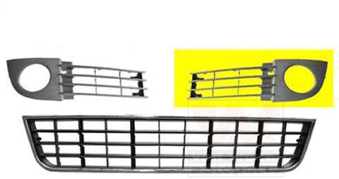 Grille de ventilation, pare-chocs - VWA - 88VWA0317593