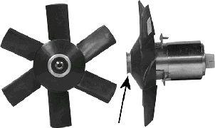 Ventilateur, refroidissement du moteur - VAN WEZEL - 0322746