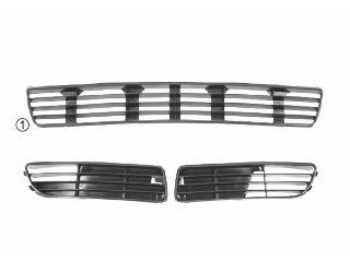 Grille de ventilation, pare-chocs - VAN WEZEL - 0323501