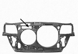 Revêtement avant - VWA - 88VWA0323668
