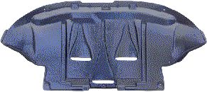 Insonoristaion du compartiment moteur - VAN WEZEL - 0323701