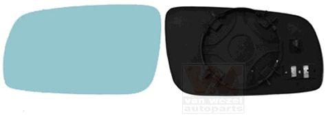 Verre de rétroviseur, rétroviseur extérieur - VAN WEZEL - 0323835