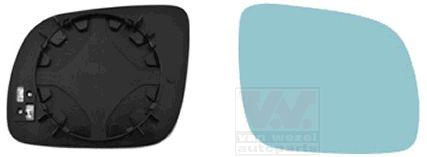 Verre de rétroviseur, rétroviseur extérieur - VWA - 88VWA0323838