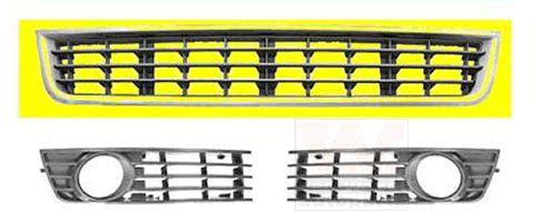 Grille de ventilation, pare-chocs - VWA - 88VWA0325590