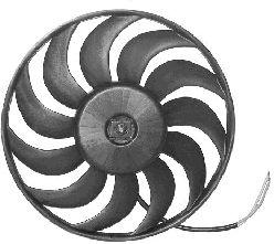 Ventilateur, refroidissement du moteur - VAN WEZEL - 0325746
