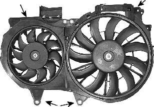 Ventilateur, refroidissement du moteur - VWA - 88VWA0325750