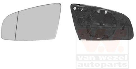 Verre de rétroviseur, rétroviseur extérieur - VAN WEZEL - 0325837