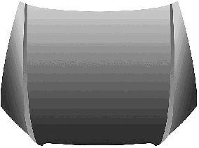 Capot-moteur - VAN WEZEL - 0326660