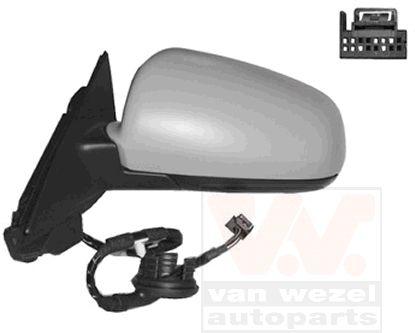 Rétroviseur extérieur - VAN WEZEL - 0332807