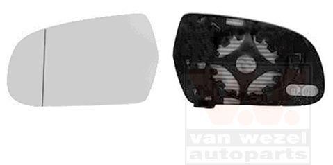 Verre de rétroviseur, rétroviseur extérieur - VAN WEZEL - 0338837