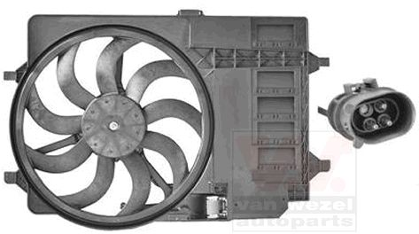 Ventilateur, refroidissement du moteur - VAN WEZEL - 0502747
