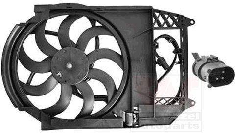 Ventilateur, refroidissement du moteur - VAN WEZEL - 0502748