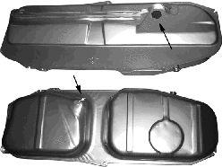 Réservoir de carburant - VAN WEZEL - 0620082