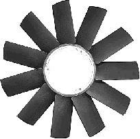 Roue du souffleur, refroidissement  du moteur - VAN WEZEL - 0639743