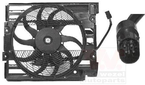 Ventilateur, condenseur de climatisation - VAN WEZEL - 0639751