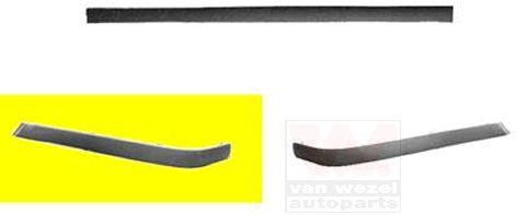 Baguette et bande protectrice, pare-chocs - VAN WEZEL - 0640551