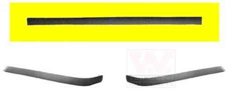 Baguette et bande protectrice, pare-chocs - VWA - 88VWA0640555