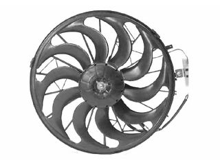 Ventilateur, condenseur de climatisation - VAN WEZEL - 0640752