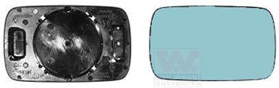 Verre de rétroviseur, rétroviseur extérieur - VWA - 88VWA0640832