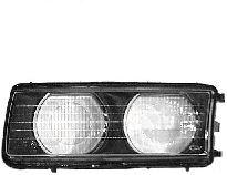 Glace striée, projecteur principal - VWA - 88VWA0640977