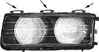 Glace striée, projecteur principal - VAN WEZEL - 0640977M