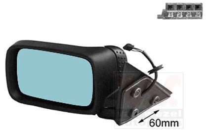 Rétroviseur extérieur - VAN WEZEL - 0642807