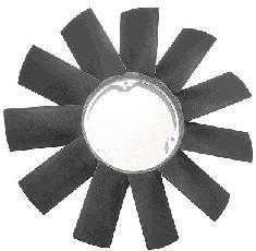 Roue du souffleur, refroidissement  du moteur - VAN WEZEL - 0646742
