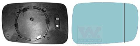 Verre de rétroviseur, rétroviseur extérieur - VAN WEZEL - 0647838