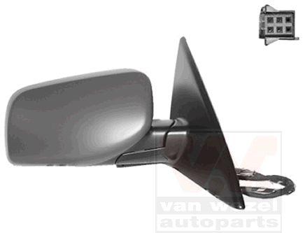 Rétroviseur extérieur - VAN WEZEL - 0655808