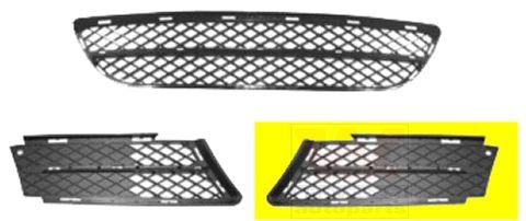 Grille de ventilation, pare-chocs - VAN WEZEL - 0657591