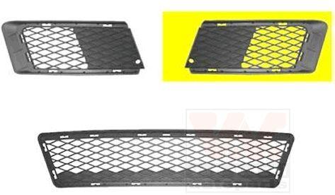 Grille de ventilation, pare-chocs - VAN WEZEL - 0659591