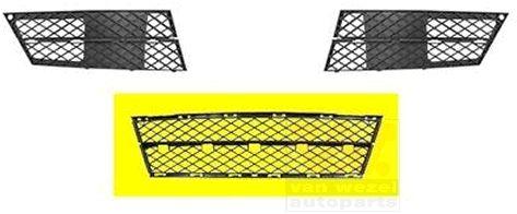 Grille de ventilation, pare-chocs - VAN WEZEL - 0661590