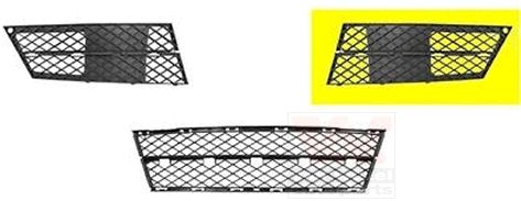 Grille de ventilation, pare-chocs - VAN WEZEL - 0661591