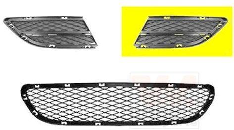 Grille de ventilation, pare-chocs - VAN WEZEL - 0667591